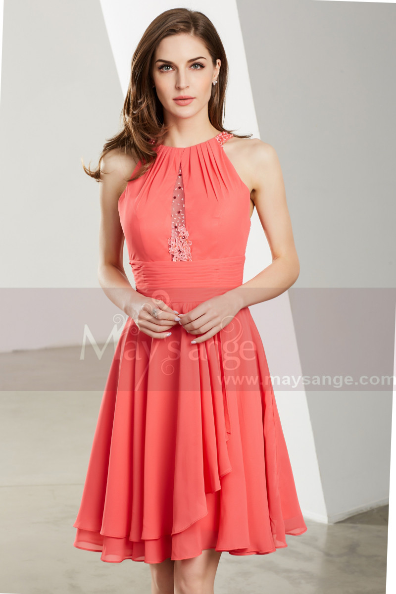 Beautiful Wedding Guest Short Dress