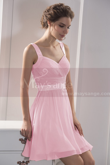 Pink cocktail dress - C784 - C784 #1