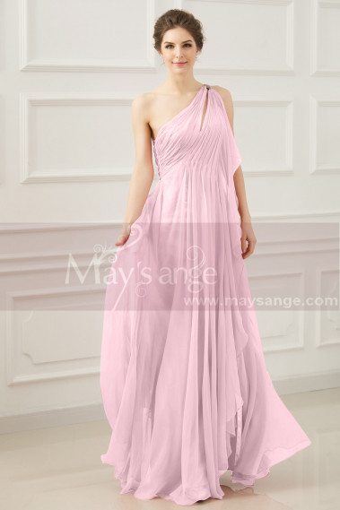 Pink evening dress - Greek evening dress old pink L765 - L765 #1