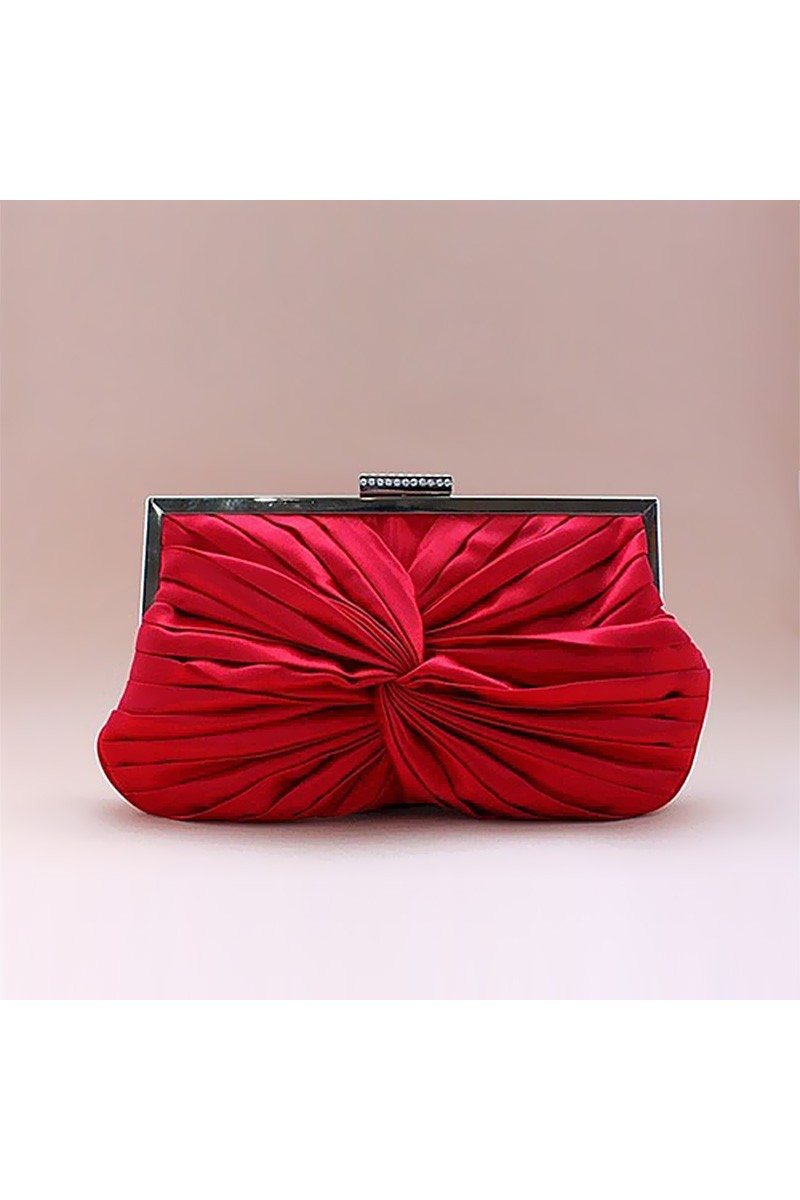 Pochette rouge mariage charisme - Ref SAC039 - 01