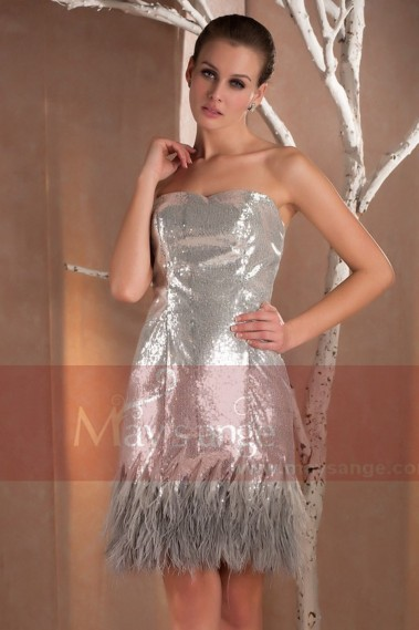 copy of Cocktail evening dresses Mariah in glitter - C204 Promotion #1