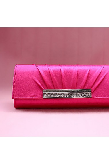 Pink evening clutch bags for weddings - SAC055 #1
