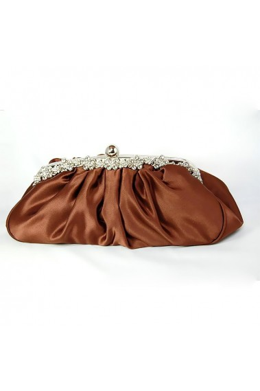 Beautiful Brown clutches online cheap - SAC065 #1