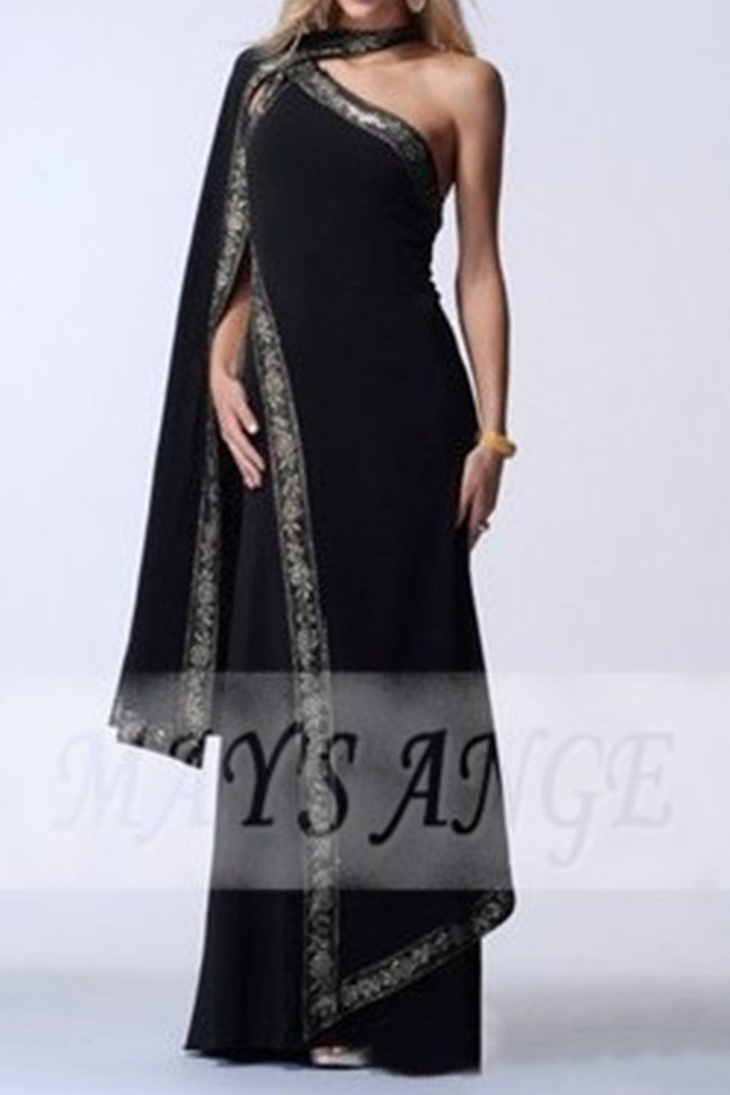copy of Traditional Indian Sari Black color in satin - Ref L138 Promo - 01