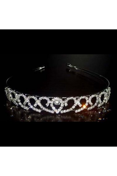 Beautiful bridal tiara with rhinestone - D010 #1