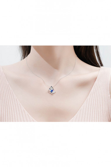 copy of Crystal pendant necklace in heart shape - F064 #1