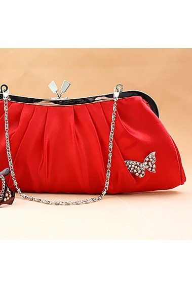 Best red evening clutches for weddings - SAC090 #1