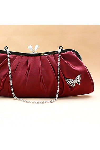 Butterfly cheap burgundy evening bag - SAC098 #1