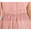 copy of High-Low Chiffon Fuchsia Wedding-Guest Party Dress - Ref C906 - 06