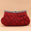 Sac Entrelacement d'hiver rouge - Ref SAC109 - 02