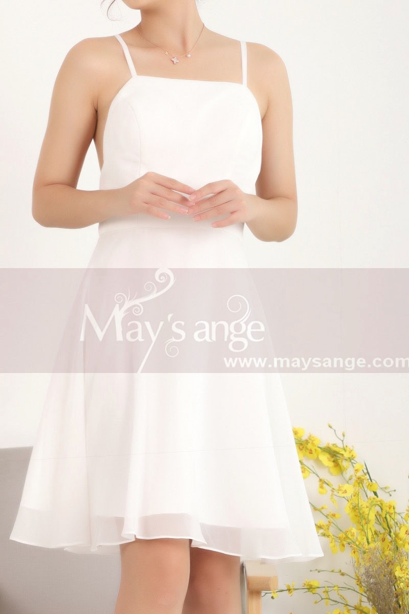copy of Ruched-Bodice Short Party Dress - Ref C907 - 01