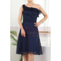 copy of Ruched-Bodice Short Party Dress - Ref C909 - 04