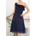 copy of Ruched-Bodice Short Party Dress - Ref C909 - 03