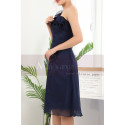copy of Ruched-Bodice Short Party Dress - Ref C909 - 07