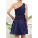 copy of Ruched-Bodice Short Party Dress - Ref C911 - 02