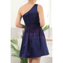 copy of Ruched-Bodice Short Party Dress - Ref C911 - 03