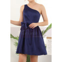copy of Ruched-Bodice Short Party Dress - Ref C911 - 04