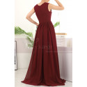copy of Beautiful Raspberry Formal Evening Gowns With An Open Back - Ref L1958 - 04