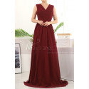 copy of Beautiful Raspberry Formal Evening Gowns With An Open Back - Ref L1958 - 03