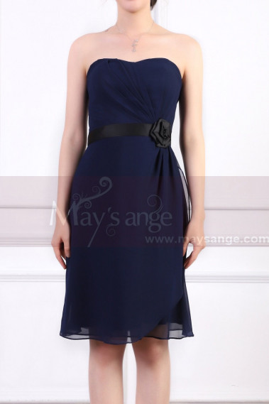 Blue cocktail dress - copy of C726 - C915 #1