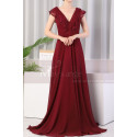 copy of Beautiful Raspberry Formal Evening Gowns With An Open Back - Ref L1974 - 04