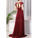 copy of Beautiful Raspberry Formal Evening Gowns With An Open Back - Ref L1974 - 05