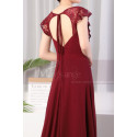 copy of Beautiful Raspberry Formal Evening Gowns With An Open Back - Ref L1974 - 03