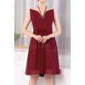 copy of Ruched-Bodice Short Party Dress - Ref C923 - 02