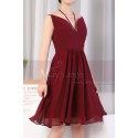 copy of Ruched-Bodice Short Party Dress - Ref C923 - 04