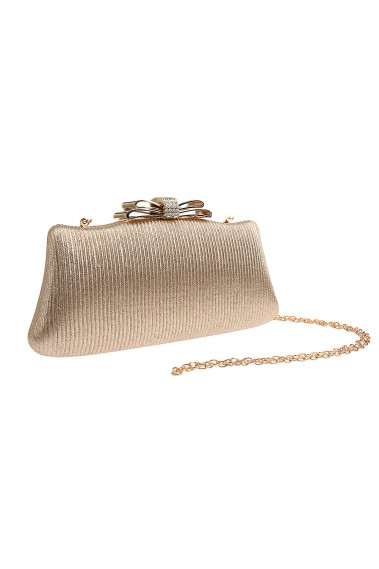 Golden clutches for wedding with knot - SAC365 #1