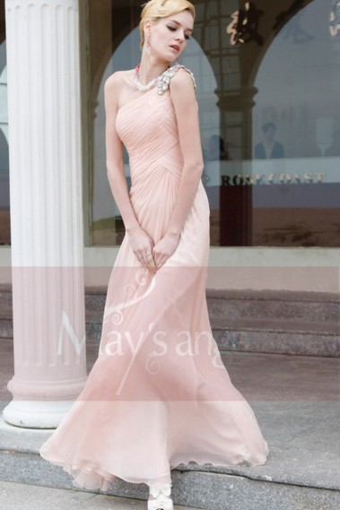 Pink evening dress - Comet Dress PR009 - PR009 #1