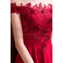 Long Formal Gown With Embroidered Bodice - Ref C992 - 07