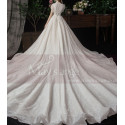 Beaded Lace Chic Wedding Wresses With Bolero-Style Top And Long Skirt - Ref M082 - 04