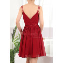 copy of Ruched-Bodice Short Party Dress - Ref C910 - 02