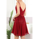 copy of Ruched-Bodice Short Party Dress - Ref C910 - 03