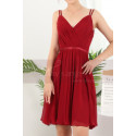 copy of Ruched-Bodice Short Party Dress - Ref C910 - 04
