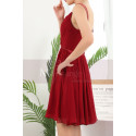 copy of Ruched-Bodice Short Party Dress - Ref C910 - 05