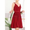 copy of Ruched-Bodice Short Party Dress - Ref C910 - 06