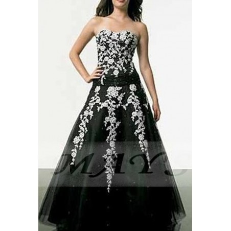 Robe de Bal Broderies sublimes - Ref P006 - 02