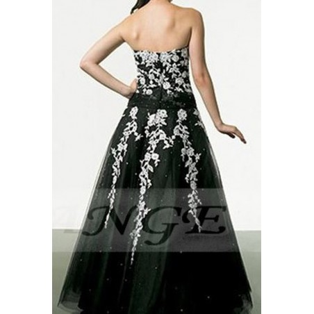 Robe de Bal Broderies sublimes - Ref P006 - 03