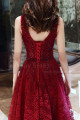 copy of Beautiful Raspberry Formal Evening Gowns With An Open Back - Ref L1998 - 06