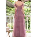 Formal Evening Gowns Pink Tulle With Sequin Top - Ref L1226 - 04