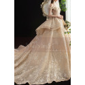 copy of Top Lace White Simple Wedding Gown With Thin Strap - Ref M1256 - 03