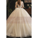 copy of Top Lace White Simple Wedding Gown With Thin Strap - Ref M1257 - 03