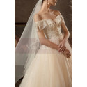 copy of Top Lace White Simple Wedding Gown With Thin Strap - Ref M1259 - 02