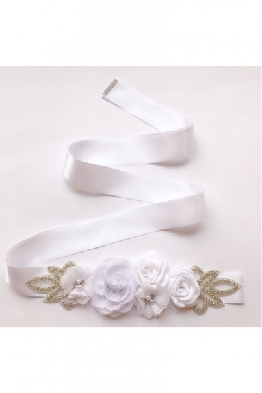 Flower Pink wedding belt a golden touch - YD004 #1