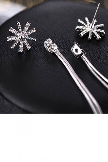 Cute rhinestone studs earrings cheap - B103 #1
