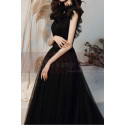 Squared Neckline Brown Formal Evening Gowns In Vintage Style - Ref L2034 - 05
