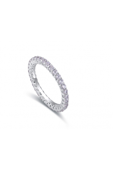 Beautiful jewelry trend thin silver wedding bands for womens - 22281 #1