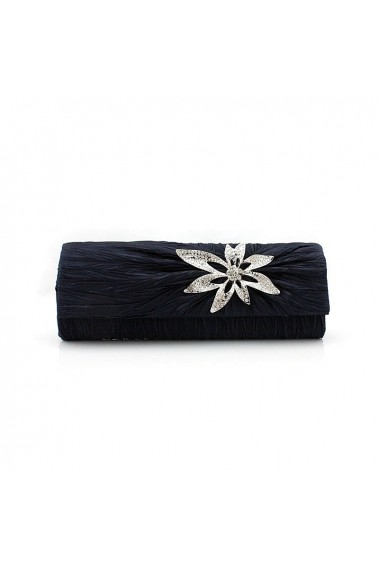 Navy blue starfish clutch wedding bag - SAC250 #1